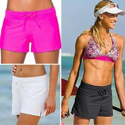 Women Swim Shorts Boardshorts Girls Bikini Brief Bottoms Bea