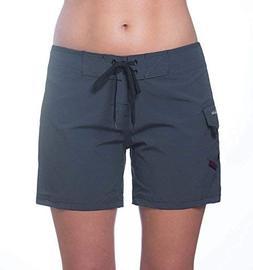 "Maui Rippers Women's 5"" 4-Way Stretch Swim Shorts Boardsho"