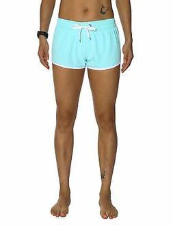 Unitop Womens Bathing Boardshorts Swim Shorts Quick Dry with
