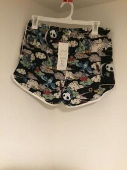 Sulang Womens Board Shorts M pandas and clouds
