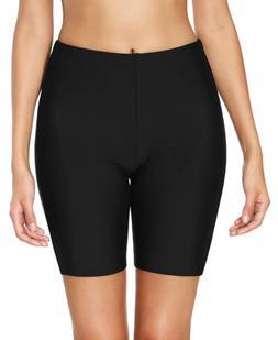 beautyin Womens Boardshort Swim Bottoms Jammer Swim Shorts T