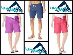 Kanu Surf Womens Marina Board Shorts 8101 Navy, Raspberry, P