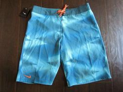 "Nike Zig Zag 21"" Boardshorts - Chlorine Blue, Men's 32"